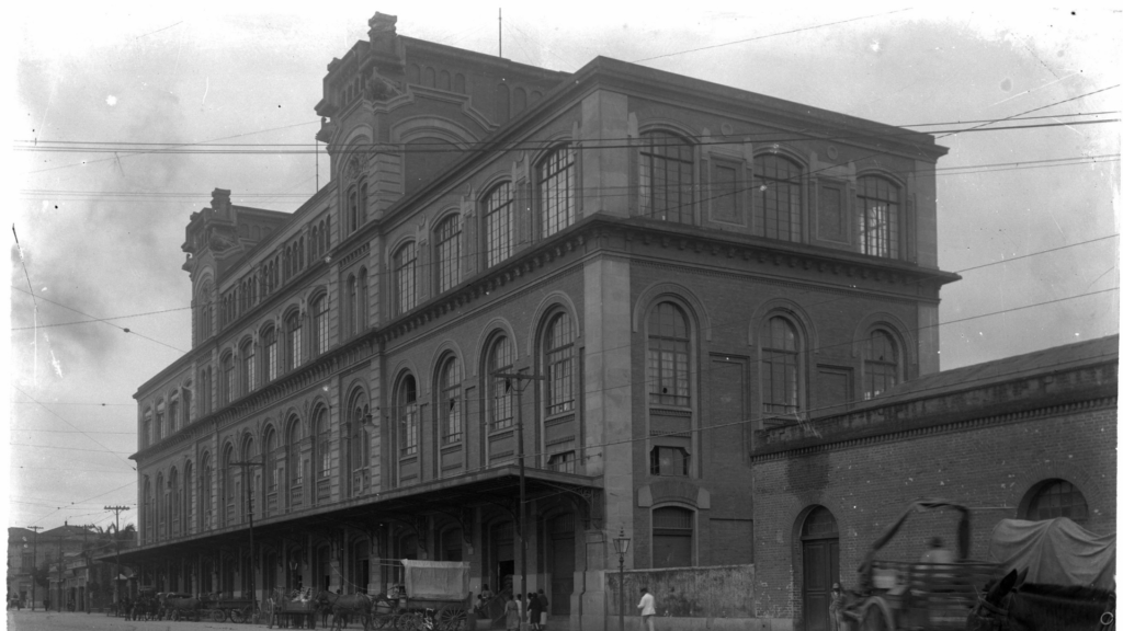 Antigo prédio de São Paulo do Departamento de Ordem Política.