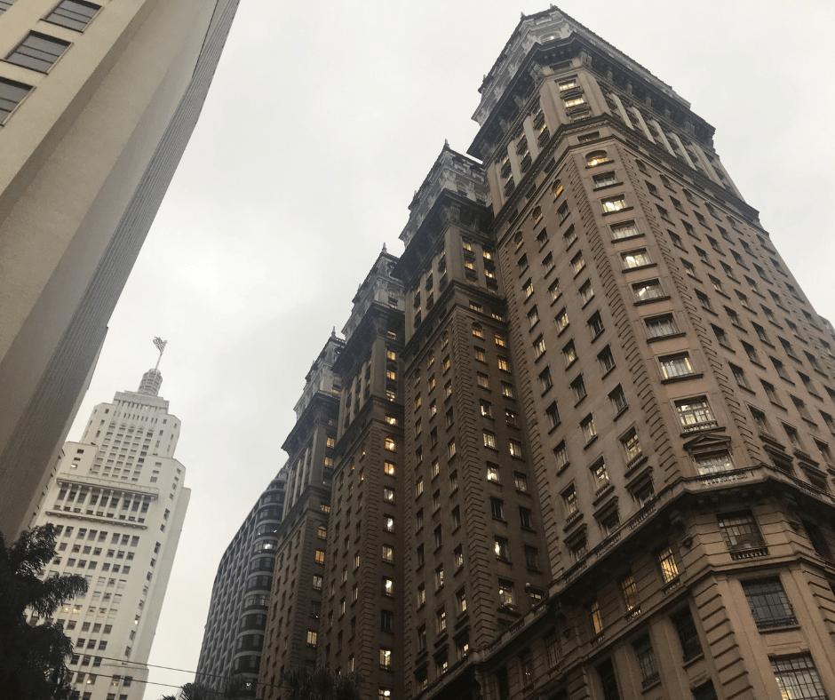 Um dos prédios de São Paulo mais históricos da cidade: o Edifício Martinelli.