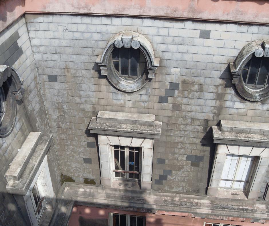 Vista externa do 25° andar do prédio de São Paulo: o Edifício Martinelli.