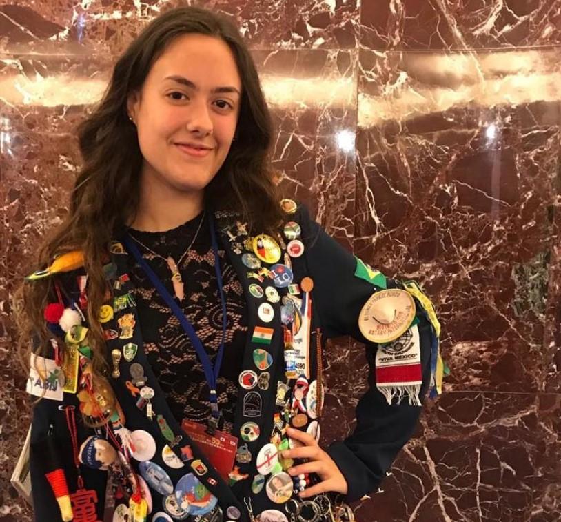 Giovanna já fez intercâmbio em Taiwan e esperava ansiosamente a oportunidade de estudar fora, em Portugal