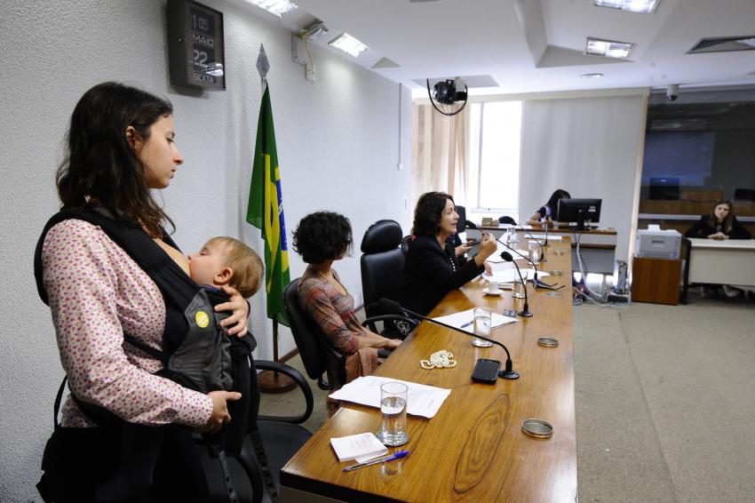 Mulheres no Senado discutem pauta feminina sobre os desafios da maternidade