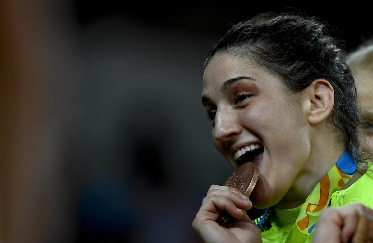 Imagem de Mayra Aguiar, medatalhista em três Olimpíadas